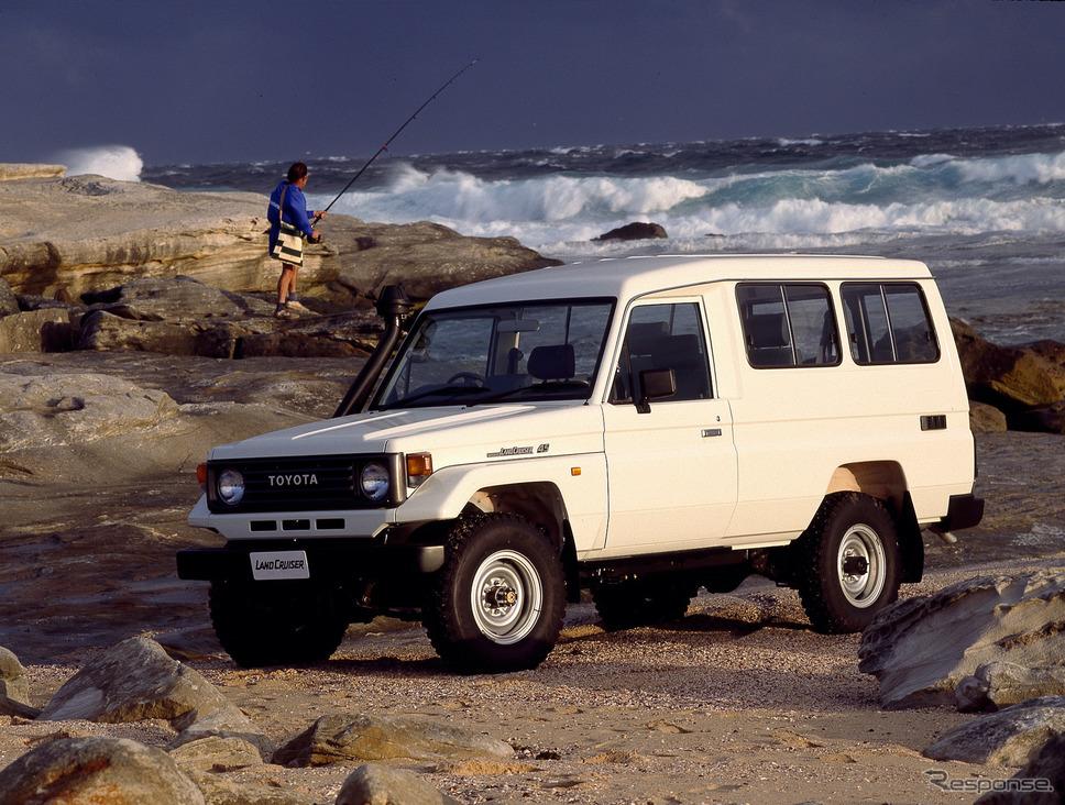 1992年:トヨタ・ランドクルーザー(オーストラリア)《photo by Toyota》