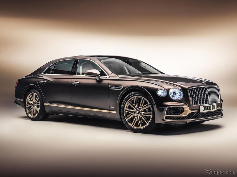 ベントレー・フライングスパー・ハイブリッド の「オデッセイエディション」《photo by Bentley》