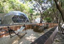 【夏休み】瀬戸内の絶景を望むグランピング施設オープン、密を避けて楽しむ「非日常」
