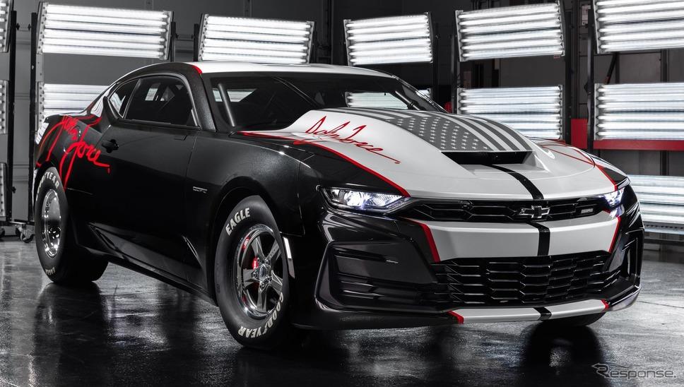 2019年のSEMAショーで発表されたシボレー COPO カマロ(参考)《photo by Chevrolet》