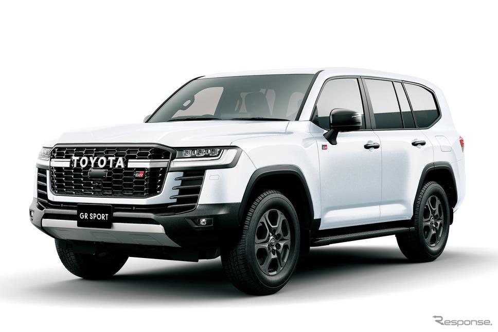 トヨタ ランドクルーザー 新型「GRスポーツ」《写真提供 トヨタ自動車》