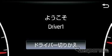トヨタ・ランドクルーザー新型:個人特定機能《写真提供 トヨタ自動車》