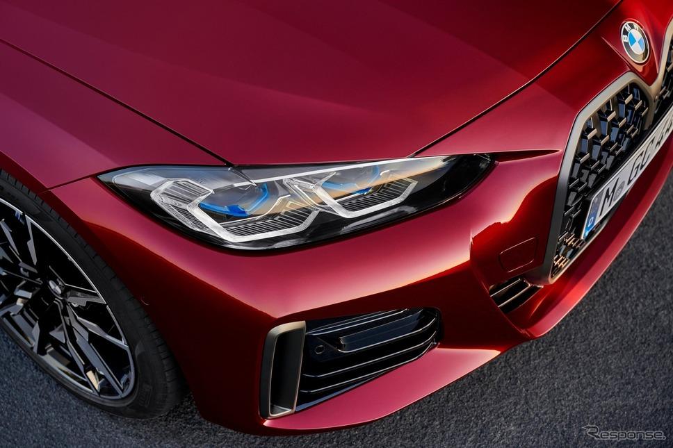 BMW 4シリーズ・グランクーペ 新型の「M440i xDrive」《photo by BMW》