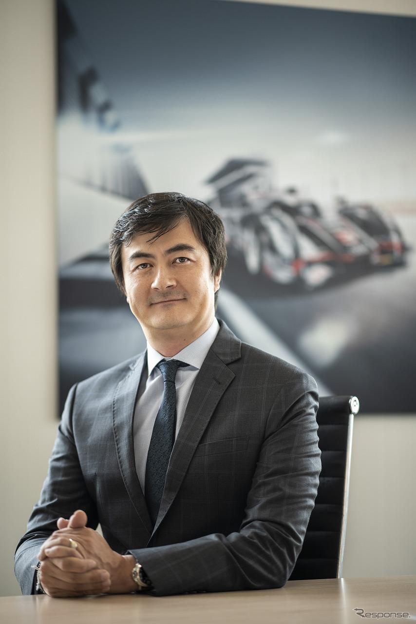 アウディジャパンの新社長に就任するマティアス・シェーパース氏《写真提供 アウディジャパン》
