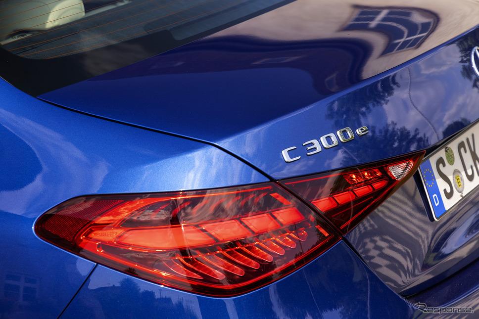メルセデスベンツ Cクラス 新型(C300e 海外仕様)《photo by Mercedes-Benz》