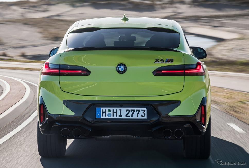 BMW X4M コンペティション 改良新型《photo by BMW》