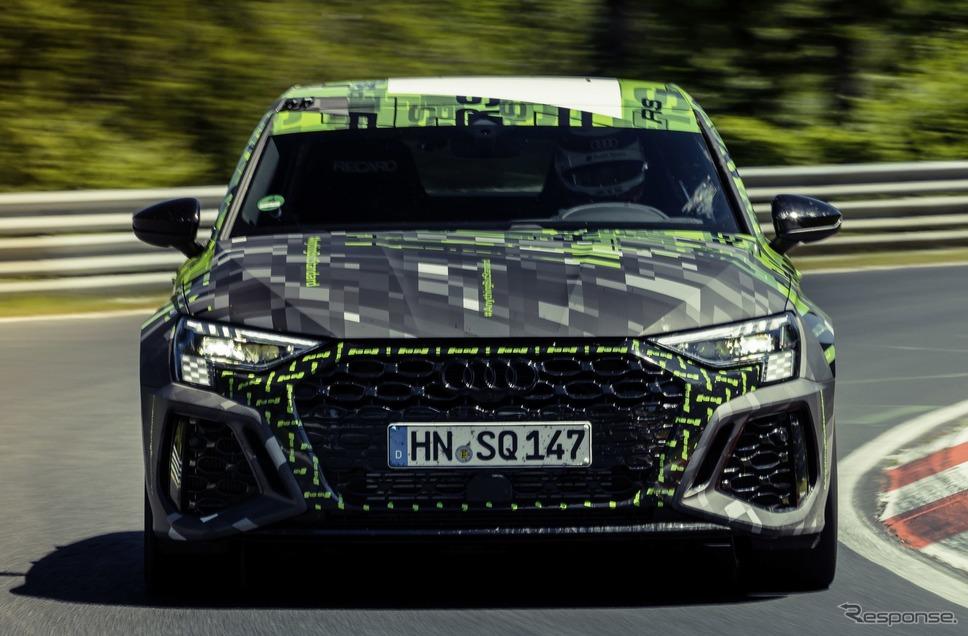 アウディ RS3 セダン 新型のプロトタイプ《photo by Audi》