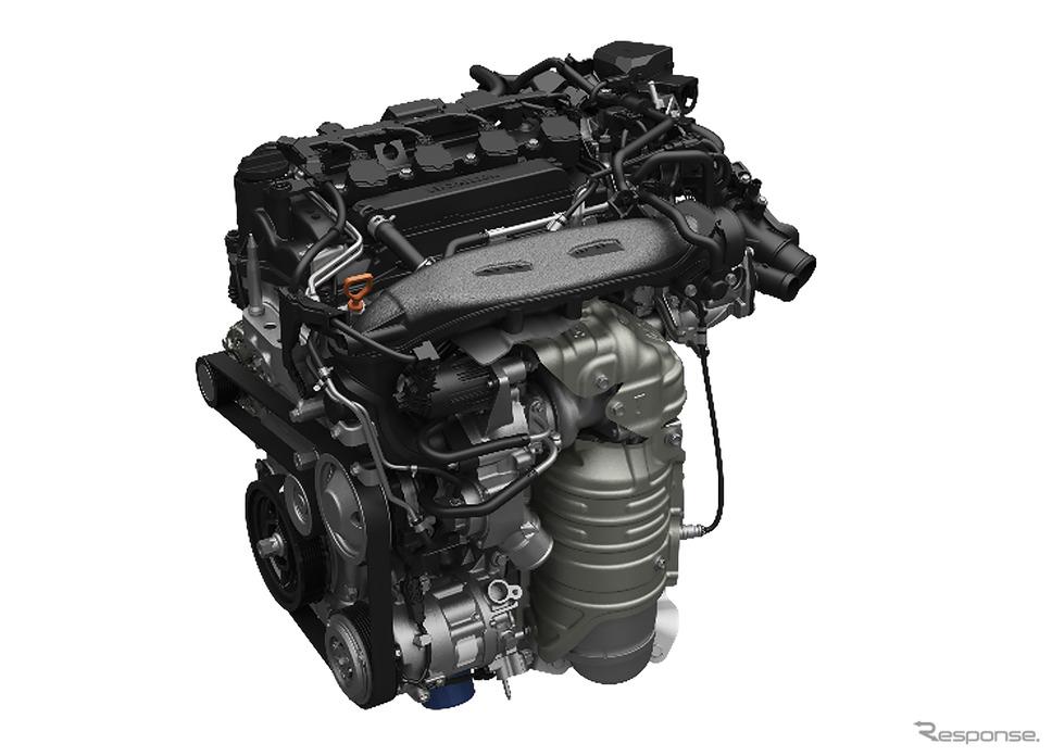 1.5L 直噴VTEC TURBOエンジン《写真提供 ホンダ》
