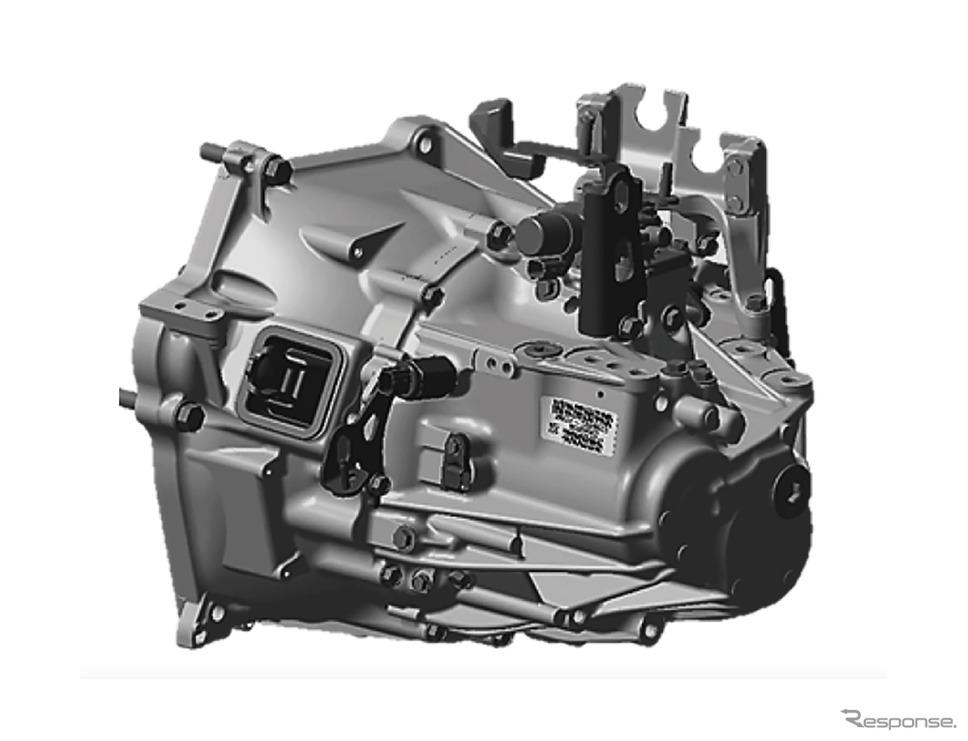 ホンダ シビック 新型の6MT《写真提供 ホンダ》