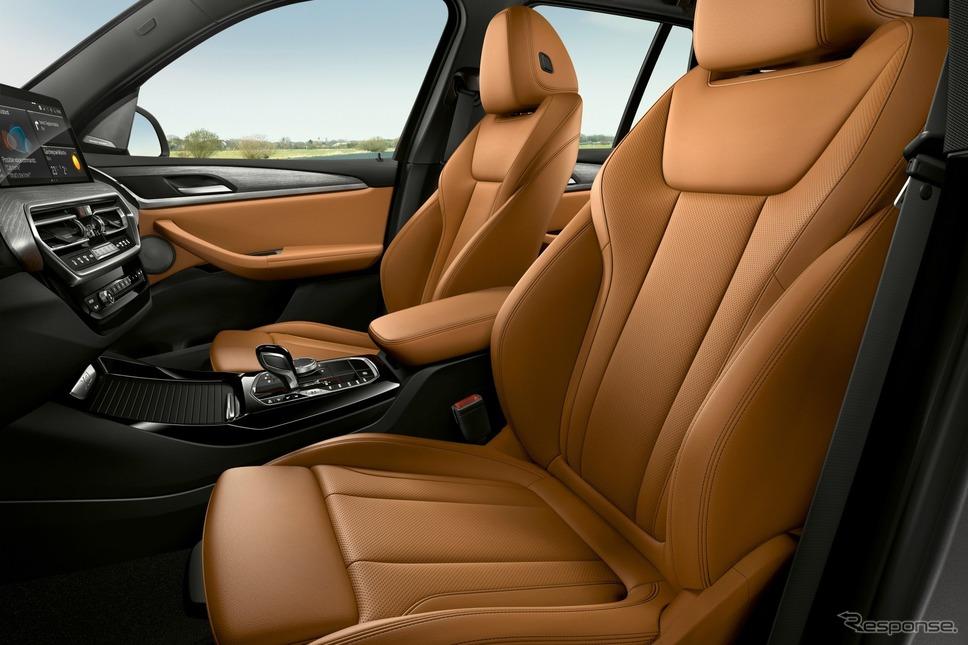 BMW X3 改良新型のPHV「xDrive30e」《photo by BMW》