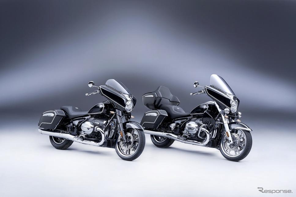 BMW R18B(左)とBMW R18トランスコンチネンタル《写真提供 ビー・エム・ダブリュー》