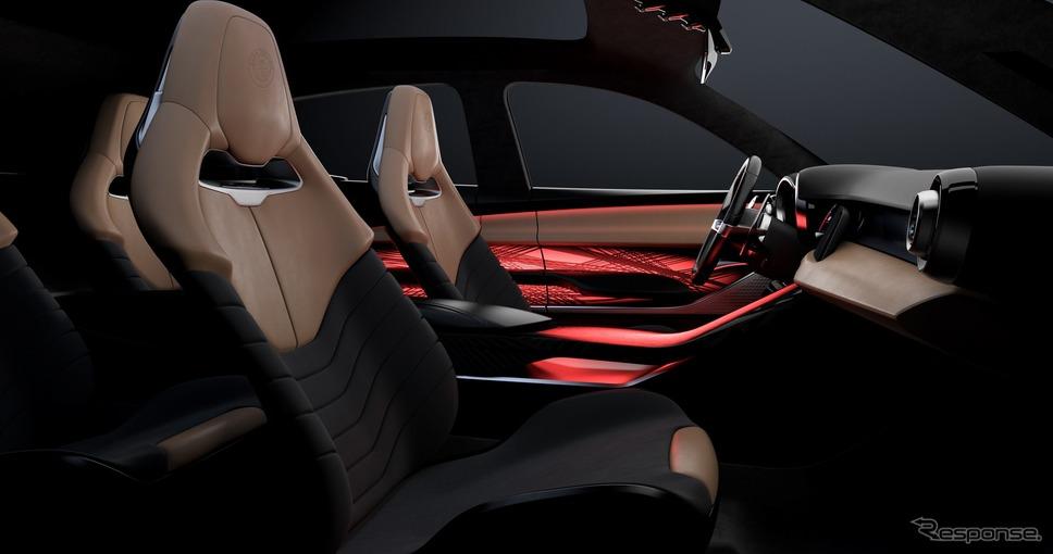 アルファロメオ・トナーレ(コンセプトカー)《photo by Alfa Romeo》
