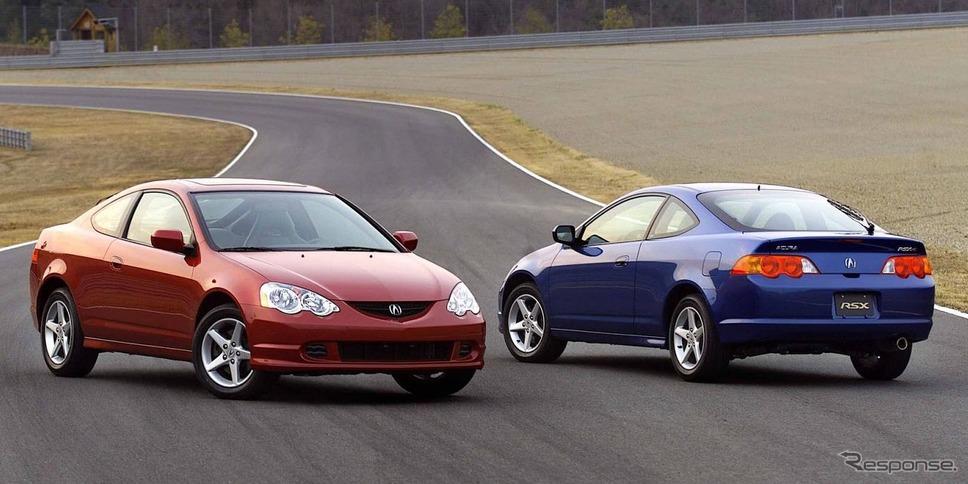 2002年モデルのアキュラRSX(日本名:ホンダ・インテグラ)のタイプS(参考)《photo by Acura》