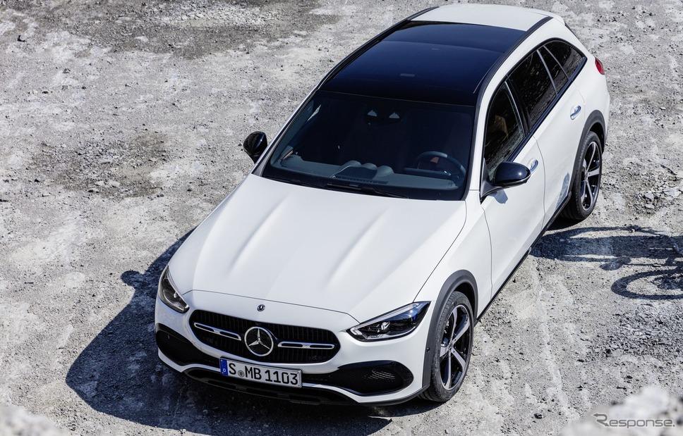 メルセデスベンツ Cクラス・オールテレーン《photo by Mercedes-Benz》