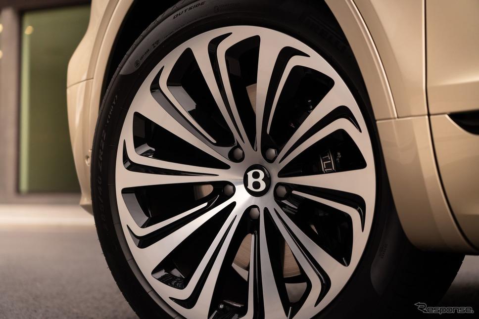 ベントレー・ベンテイガ・ハイブリッド 改良新型《photo by Bentley》
