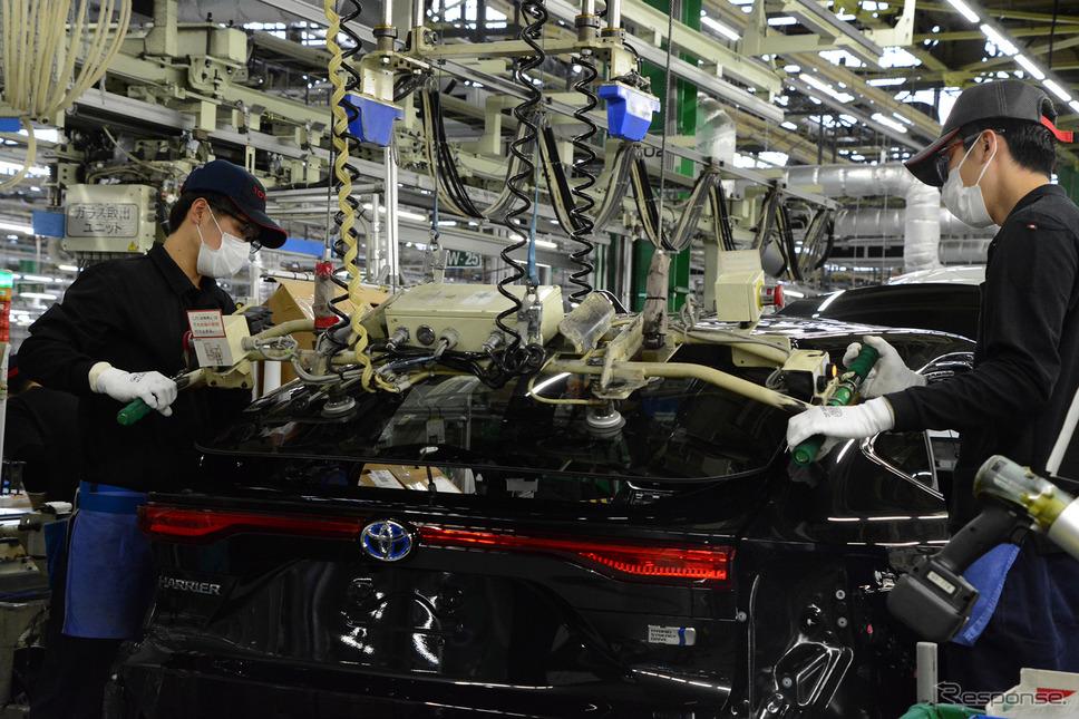 トヨタ自動車高岡工場《写真提供 トヨタ自動車》