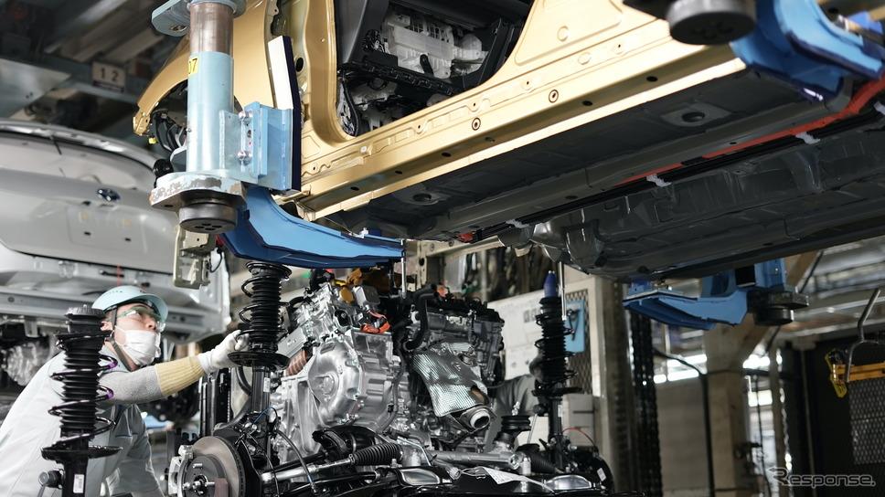 トヨタ自動車東日本岩手工場(新型アクア)《写真提供 トヨタ自動車》