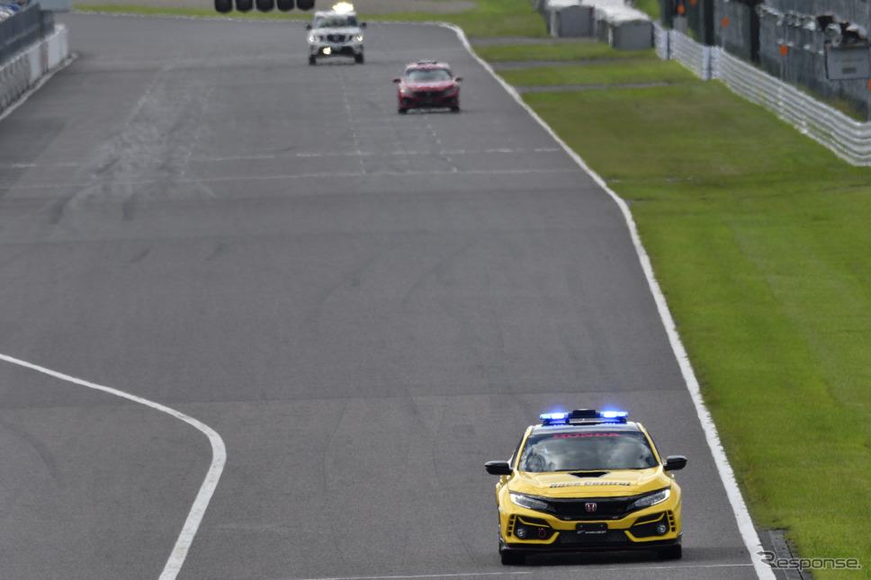 シビックタイプR Limited Edition レースコントロールカー《写真撮影 雪岡直樹》