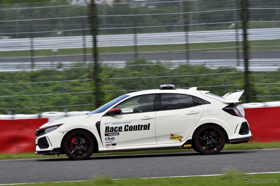 シビックタイプR レースコントロールカー《写真撮影 雪岡直樹》