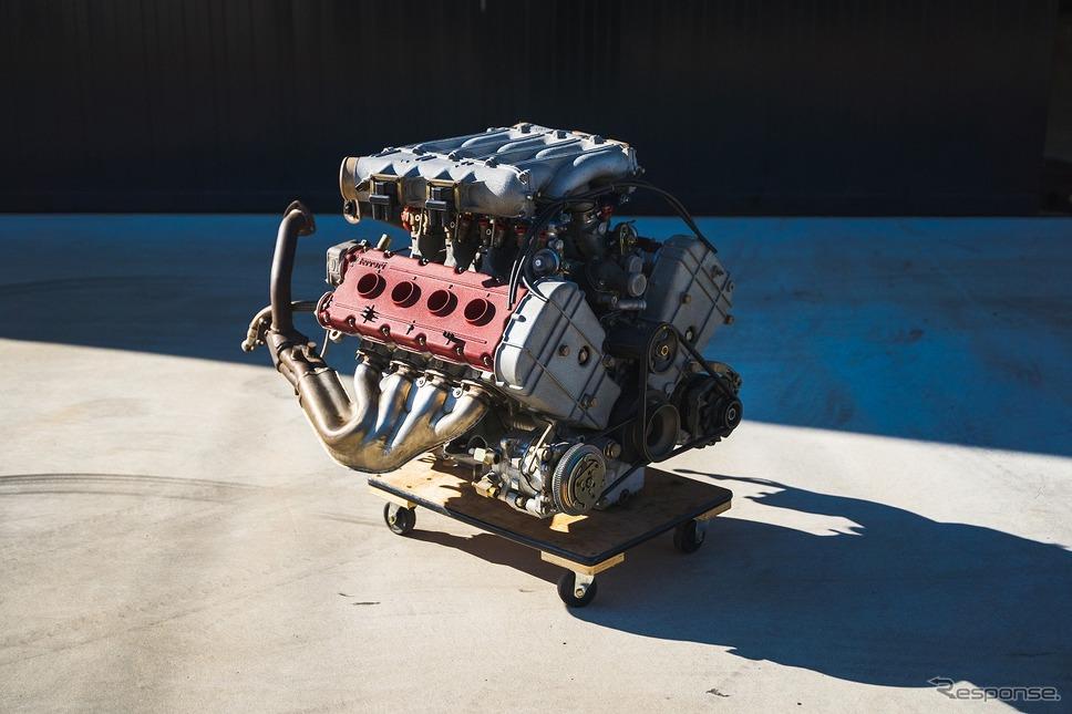 フェラーリ F40用 Tipo F120A型エンジン《写真提供 BH AUCTION HOUSE》
