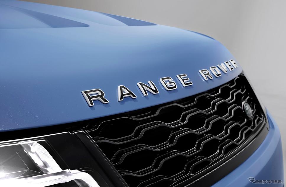 ランドローバー・レンジローバー スポーツ SVR の「アルティメットエディション」《photo by Land Rover》