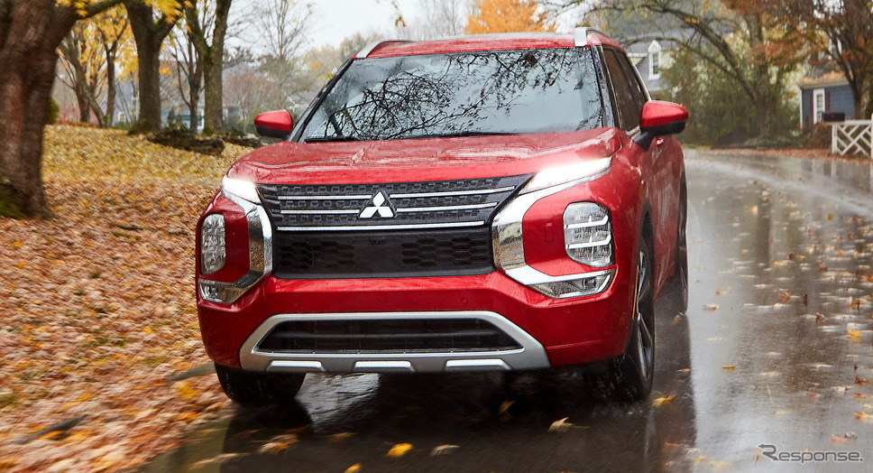 三菱 アウトランダー 新型(北米仕様)《photo by Mitsubishi Motors》