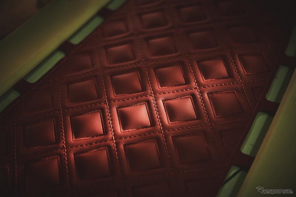 ベントレーの内装に使用されるレザー《photo by Bentley》
