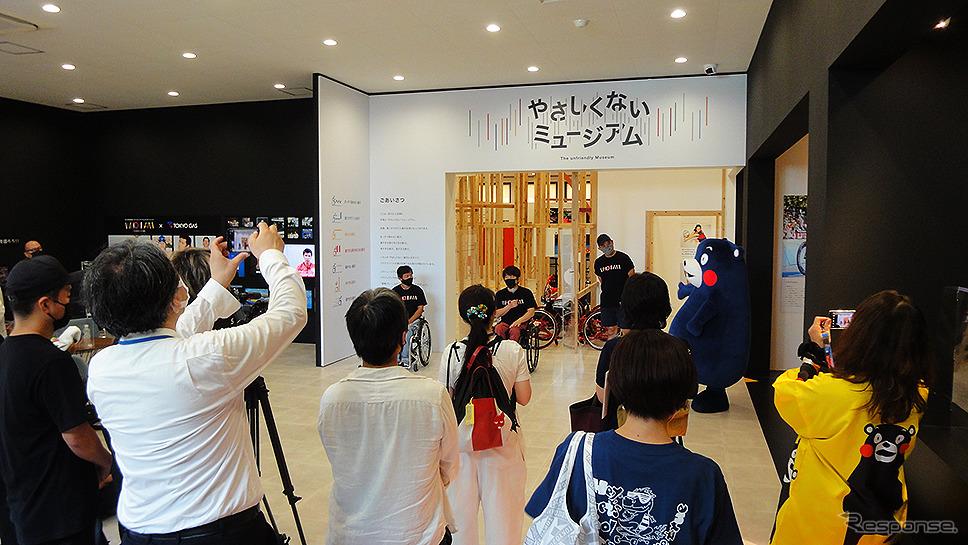 トップパラアスリートの超人的プレーを体感できる「やさしくないミュージアム」《写真撮影 大野雅人》