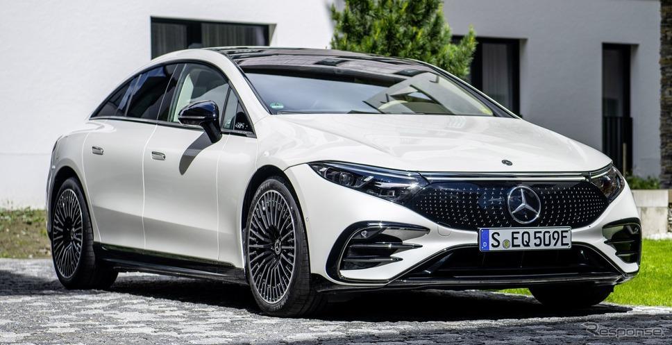 メルセデスベンツ EQS の「AMGライン」(参考)《photo by Mercedes-Benz》