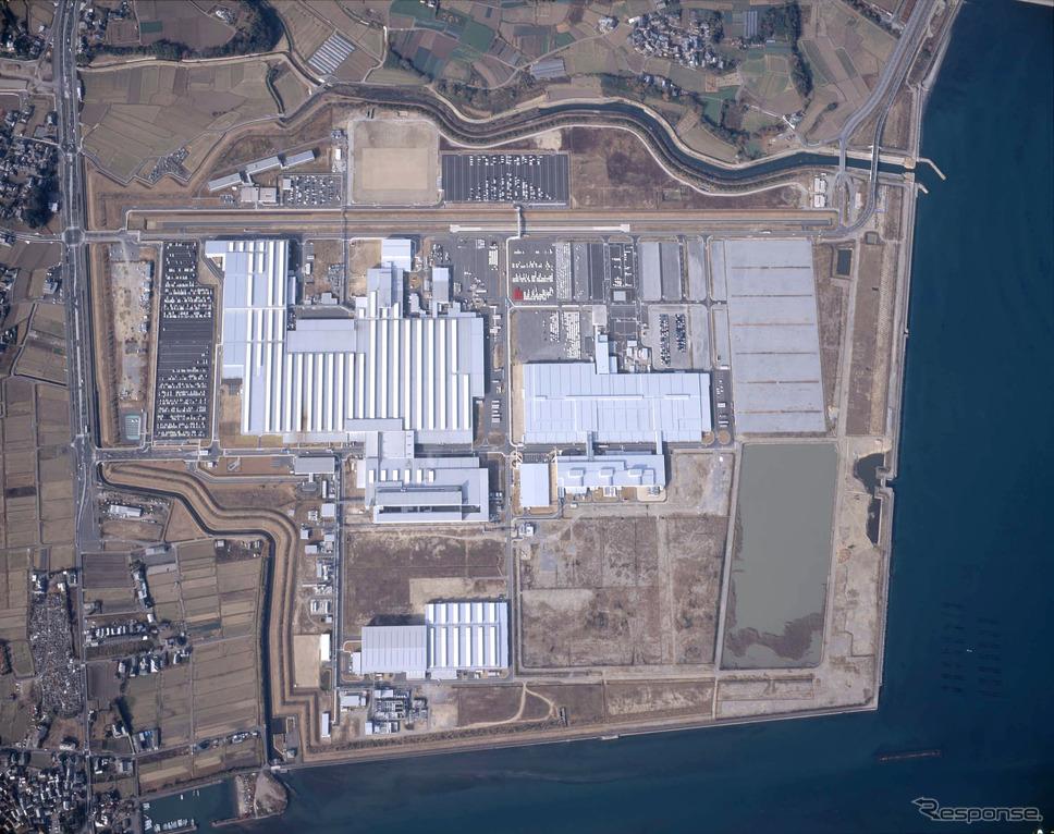 ダイハツ九州大分(中津)第2工場《写真提供 ダイハツ工業》