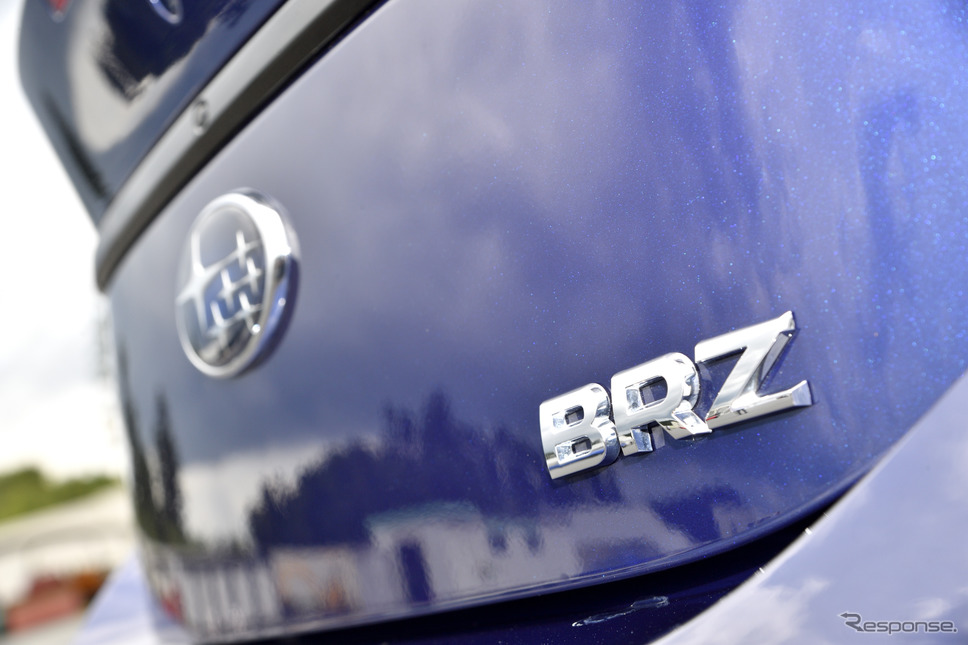 スバル BRZ 新型《写真撮影 雪岡直樹》