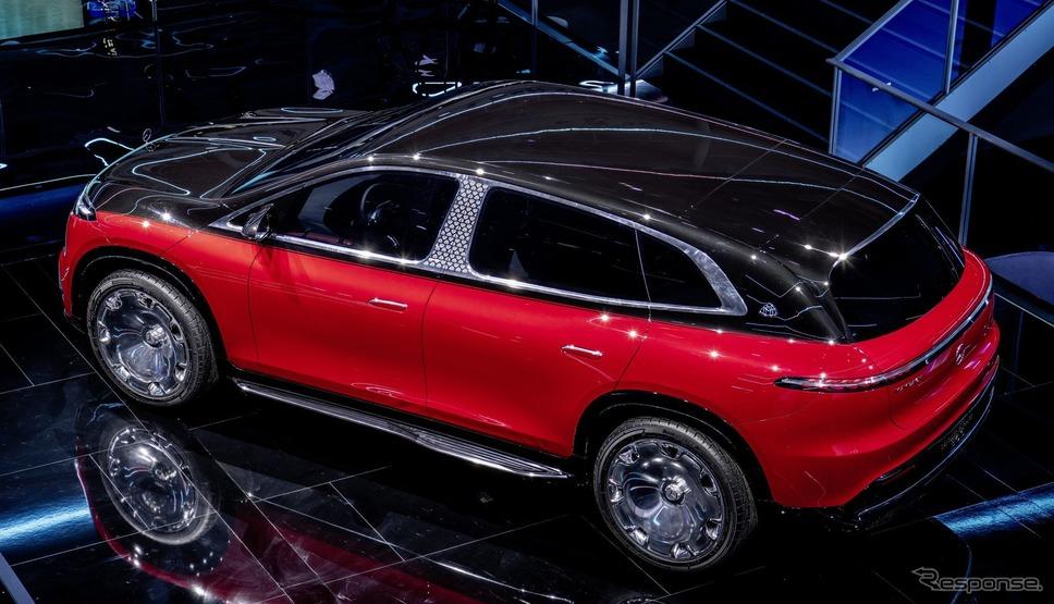 コンセプト・メルセデスマイバッハ EQS(IAAモビリティ2021)《photo by Mercedes-Benz》