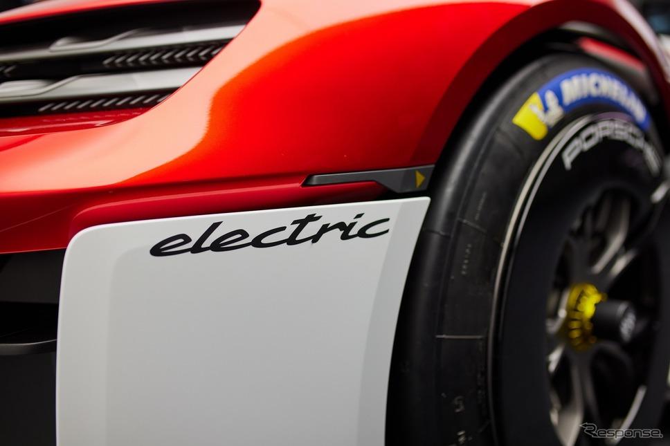 ポルシェ・ミッションR《photo by Porsche》