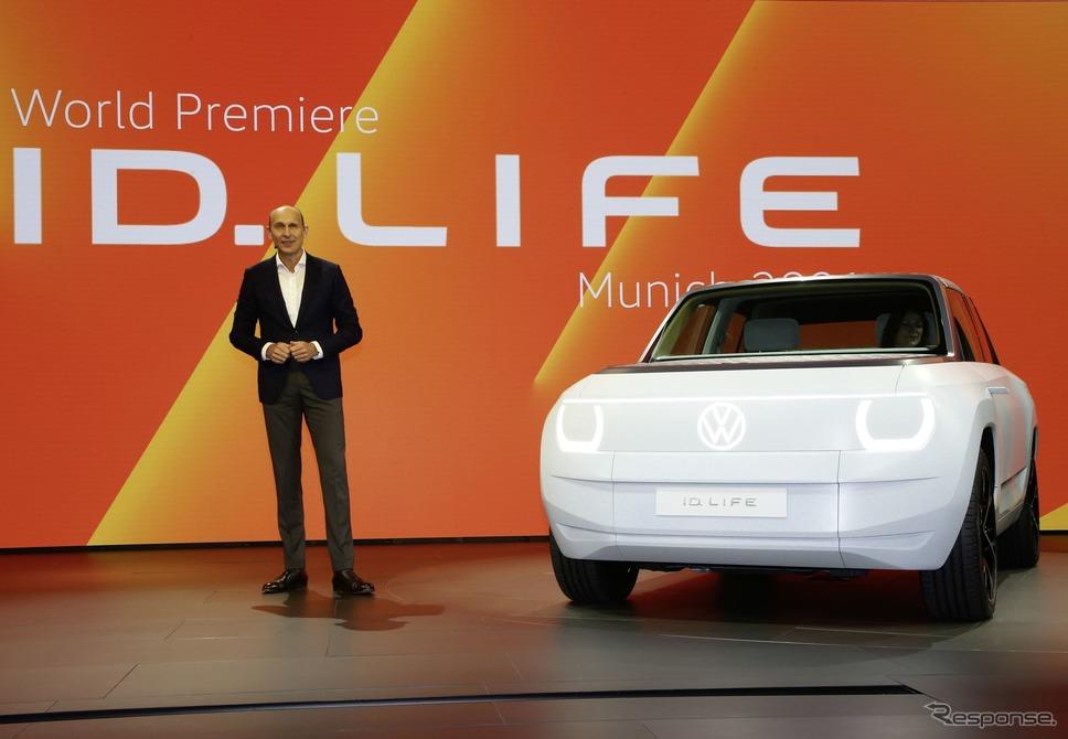 フォルクスワーゲン ID. LIFE(IAAモビリティ2021)《photo by VW》
