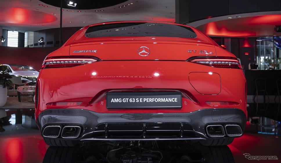 メルセデスAMG GT 63 S Eパフォーマンス(IAAモビリティ2021)《photo by Mercedes-Benz》