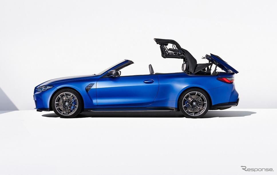 BMW M4カブリオレ コンペティション M xDrive《写真提供 ビー・エム・ダブリュー》