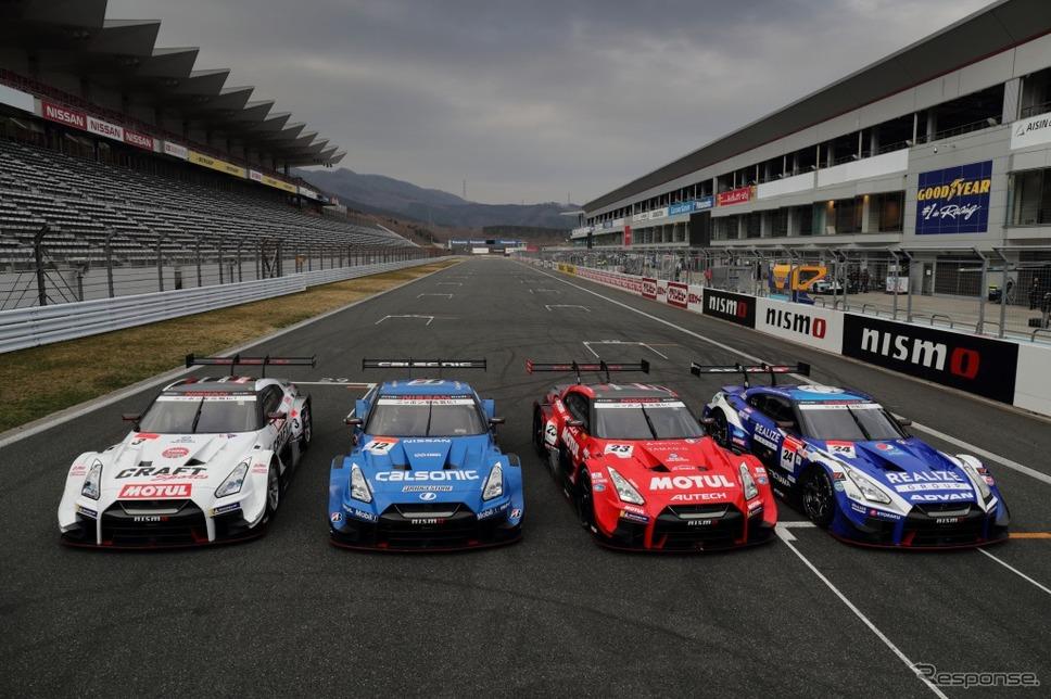 GT-Rレースカー(2018年)《写真提供 日産自動車》