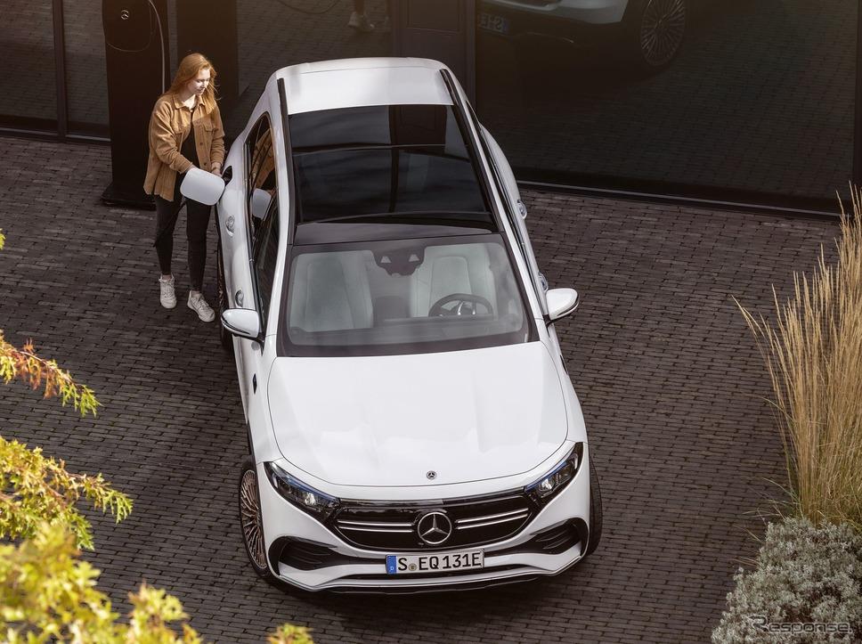 メルセデスベンツ EQB《photo by Mercedes-Benz》