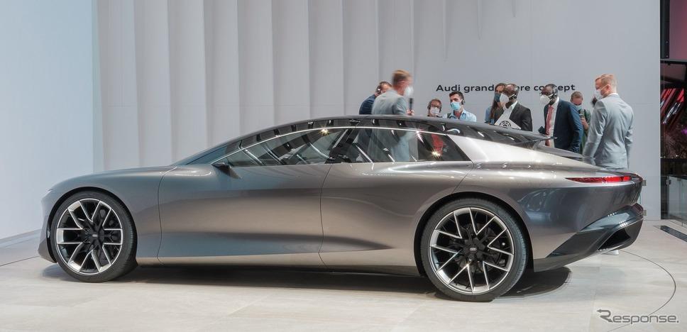アウディ・グランドスフィア(IAAモビリティ2021)《photo by Audi》