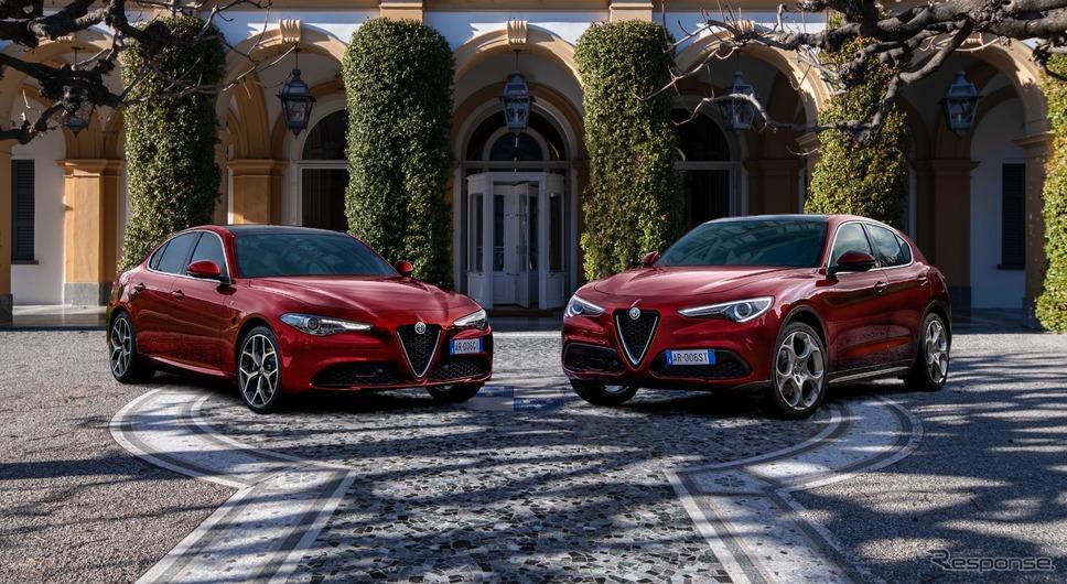 アルファロメオ・ジュリアとステルヴィオの「6Cヴィラ・デステ」《photo by Alfa Romeo》