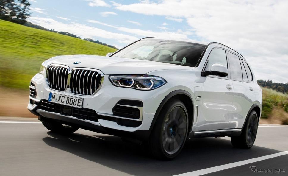 BMW X5 のPHV《photo by BMW》