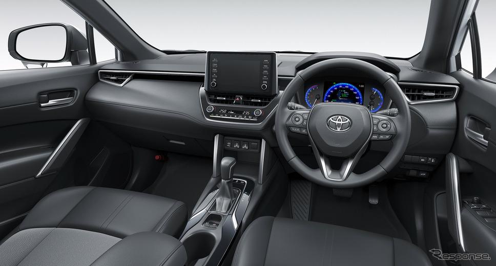 トヨタ カローラクロス Z(ハイブリッド車・2WD)《写真提供 トヨタ自動車》
