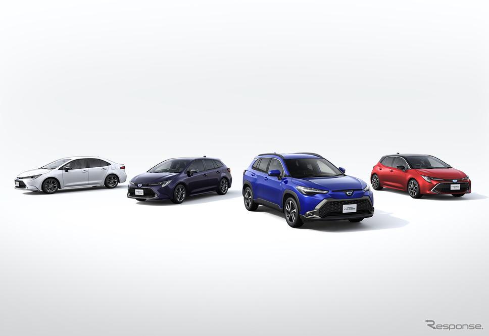 トヨタ カローラ シリーズ《写真提供 トヨタ自動車》
