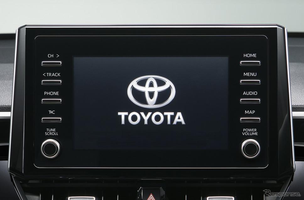 7インチディスプレイオーディオ《写真提供 トヨタ自動車》