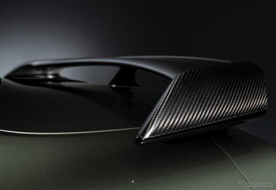 日産 GT-R トラックエディション エンジニアード by NISMO T-スペック 特別装備 リアスポイラー《写真提供 日産自動車》