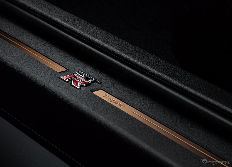 日産 GT-R トラックエディション エンジニアード by NISMO T-スペック 特別装備 キッキングプレート《写真提供 日産自動車》