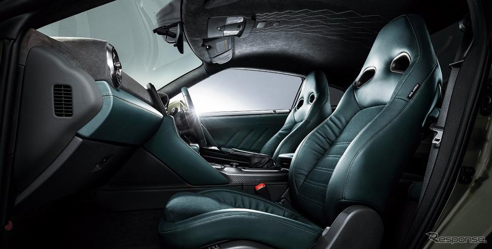 プレミアムエディション T-スペック専用内装色《写真提供 日産自動車》
