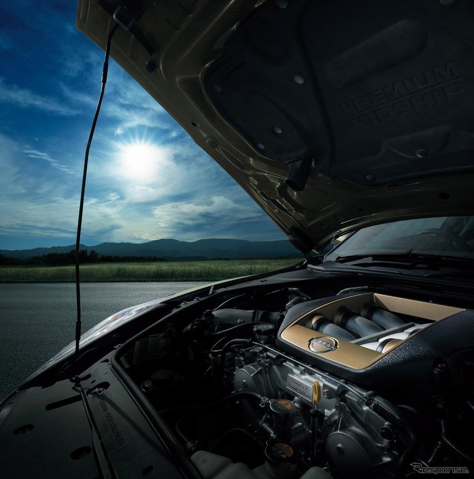 日産 GT-R 2022年モデル エンジンルーム イメージ《写真提供 日産自動車》