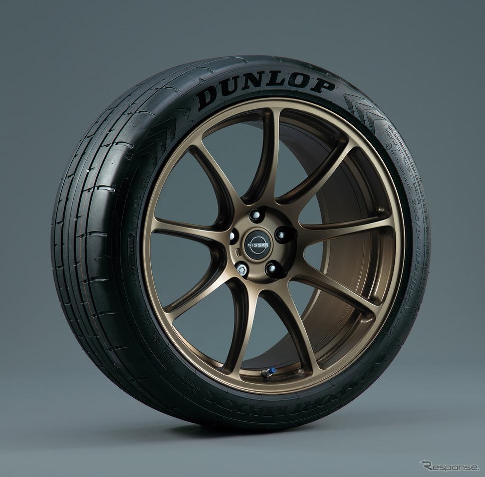 専用レイズ製アルミ鍛造ホイール ブロンズ(日産 GT-R プレミアムエディション T-スペック)《写真提供 日産自動車》