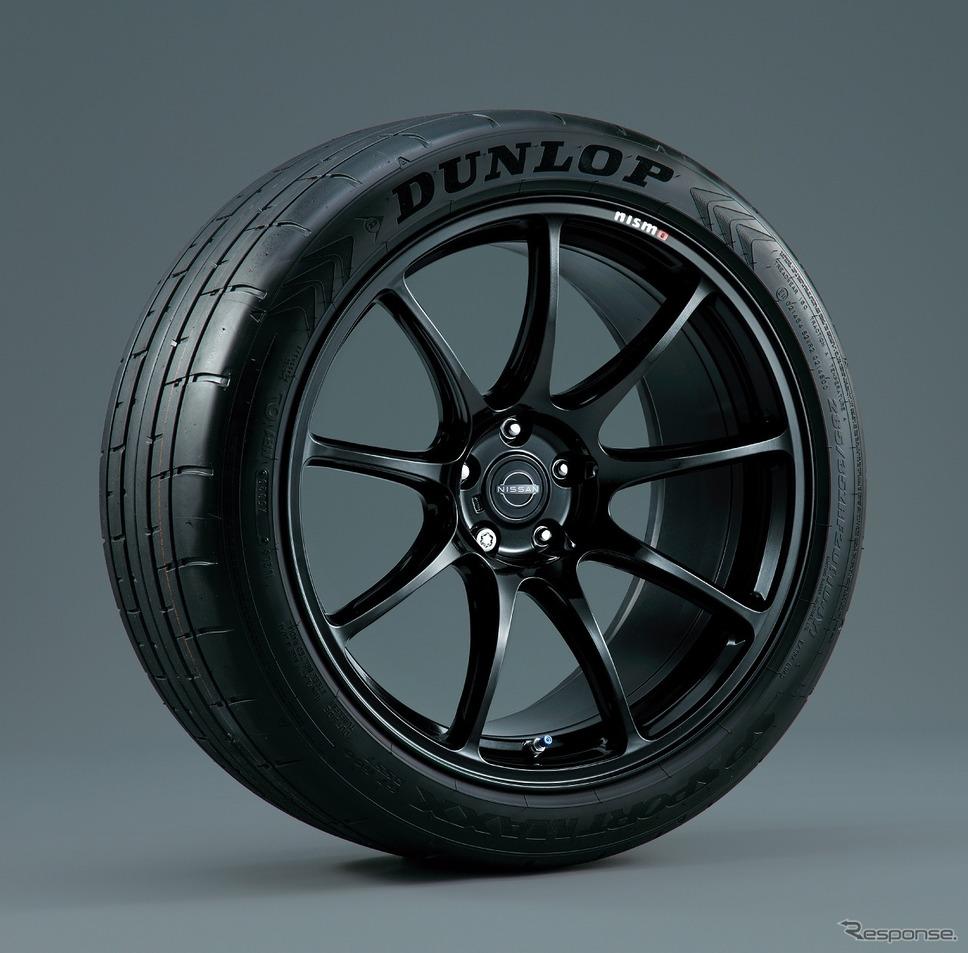 専用レイズ製アルミ鍛造ホイール NISMOレーシングブラック(日産 GT-R トラックエディション エンジニアード by NISMO、日産 GT-R トラックエディション エンジニアード by NISMO T-スペック)《写真提供 日産自動車》